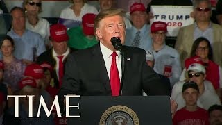 Trump Trains His Fire On Biden In Must-Win Pennsylvania | TIME