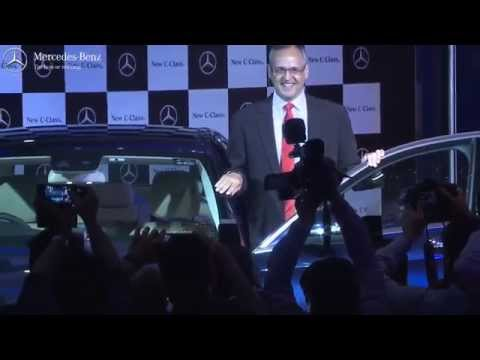 The new C-Class makes its India debut.