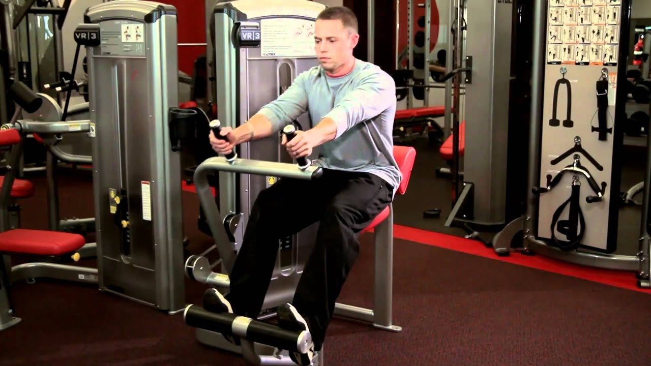 Abdominal Machine Ab Exercise