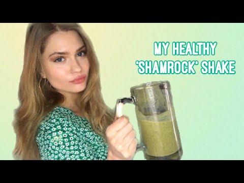MODEL DIET: MY HEALTHY SHAMROCK SHAKE