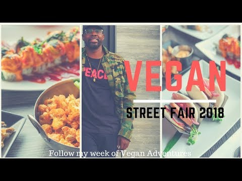 Vegan Street Fair 2018 - Vegan Nights Vlog 6 Turnip Vegan