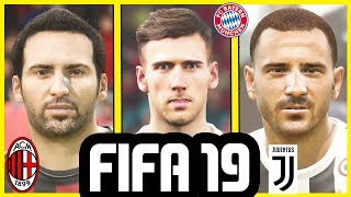 FIFA 19 REAL FACES CONFIRMED TRANSFERS - SUMMER 2018