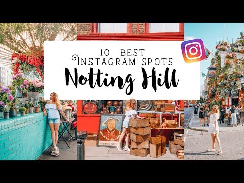 Instagram Guide to Notting Hill, London | Love and London x Girl vs Globe