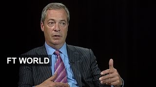 Nigel Farage on the EU referendum | FT World