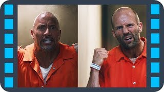 Вся агрессия между Хоббсом и Шоу в одной сцене — «Форсаж 8» (2017) сцена 2/7 HD