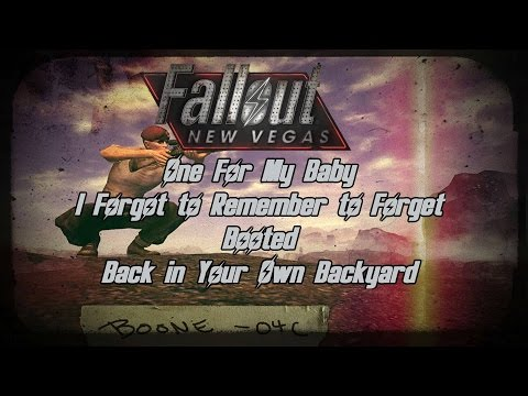 Fallout: New Vegas - Boone Companion Quest - I Forgot to Remember to Forget & More