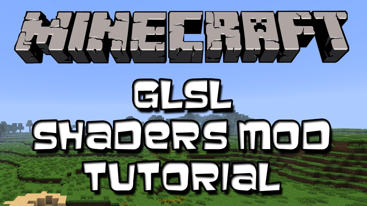 how to download glsl shaders mod 1.12
