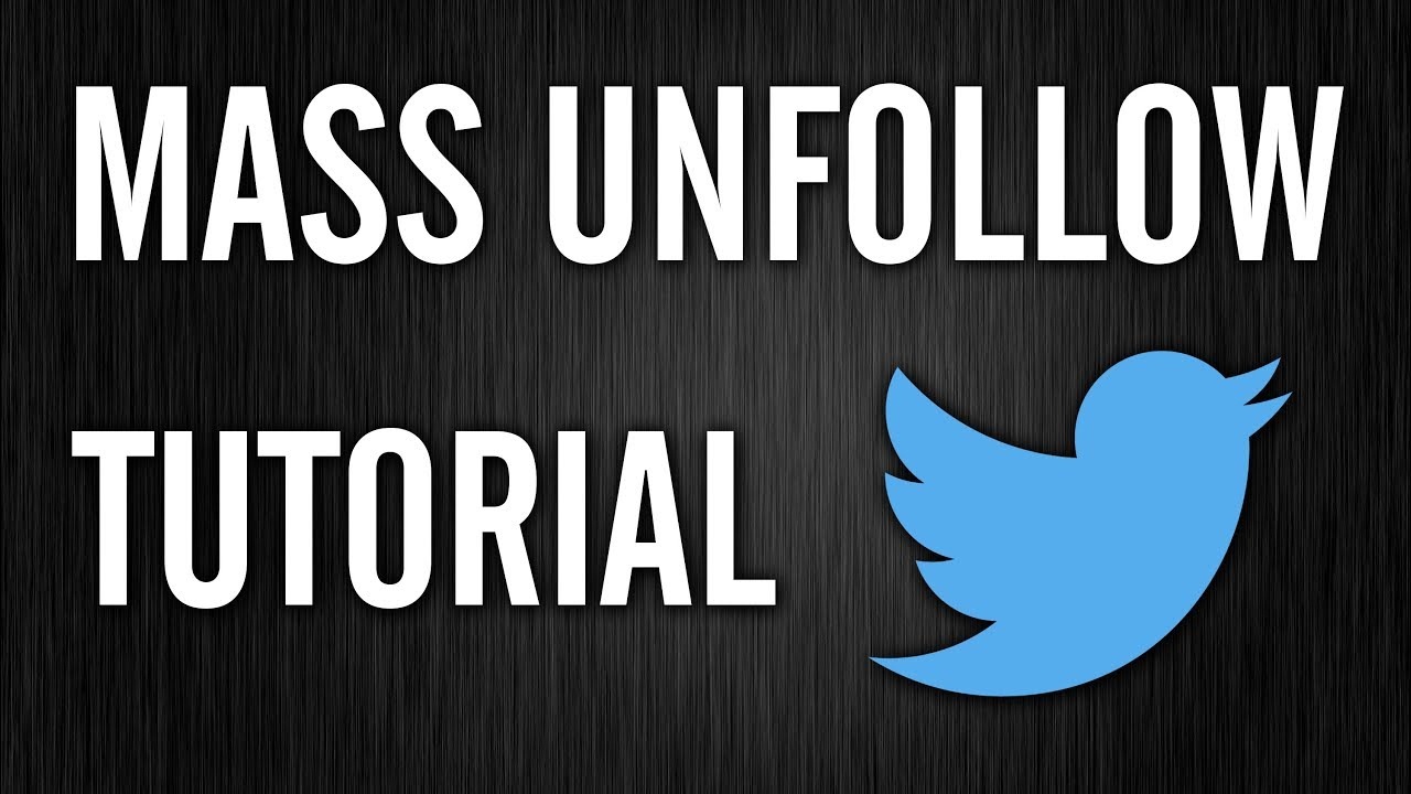 How to Mass Unfollow Everyone on Twitter (Free, No Downloads)