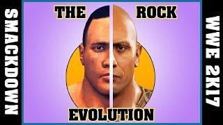 THE ROCK evolution [WWF SMACKDOWN - WWE 2K17]