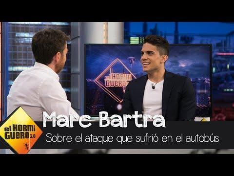 """Marc Bartra, tras el ataque al autobús: """"Me dijeron que tenía heridas de guerra"""" - El Hormiguero 3.0"""