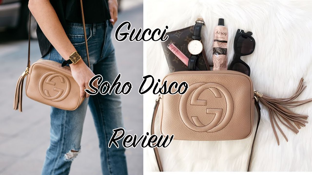 37a971af68b9 Gucci Soho Disco Bag Review+Giveaway | PhoebeMeng - YouTube