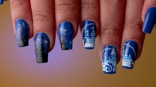 Nostalgic Disney Castle Nail Art | TIPS by Disney Style