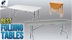10 Best Folding Tables 2018