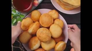 Рецепт баурсаков | Как готовить баурсаки | Казахские бауырсаки