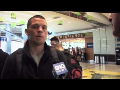 "Nate Diaz strategy for disaster and ""CASH"" Nate Diaz  UFC 196 Diaz vs McGregor"