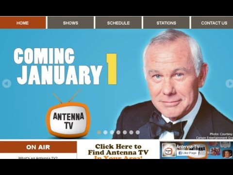 Johnny Carson 1/1/16 Antenna TV PREVIEW special