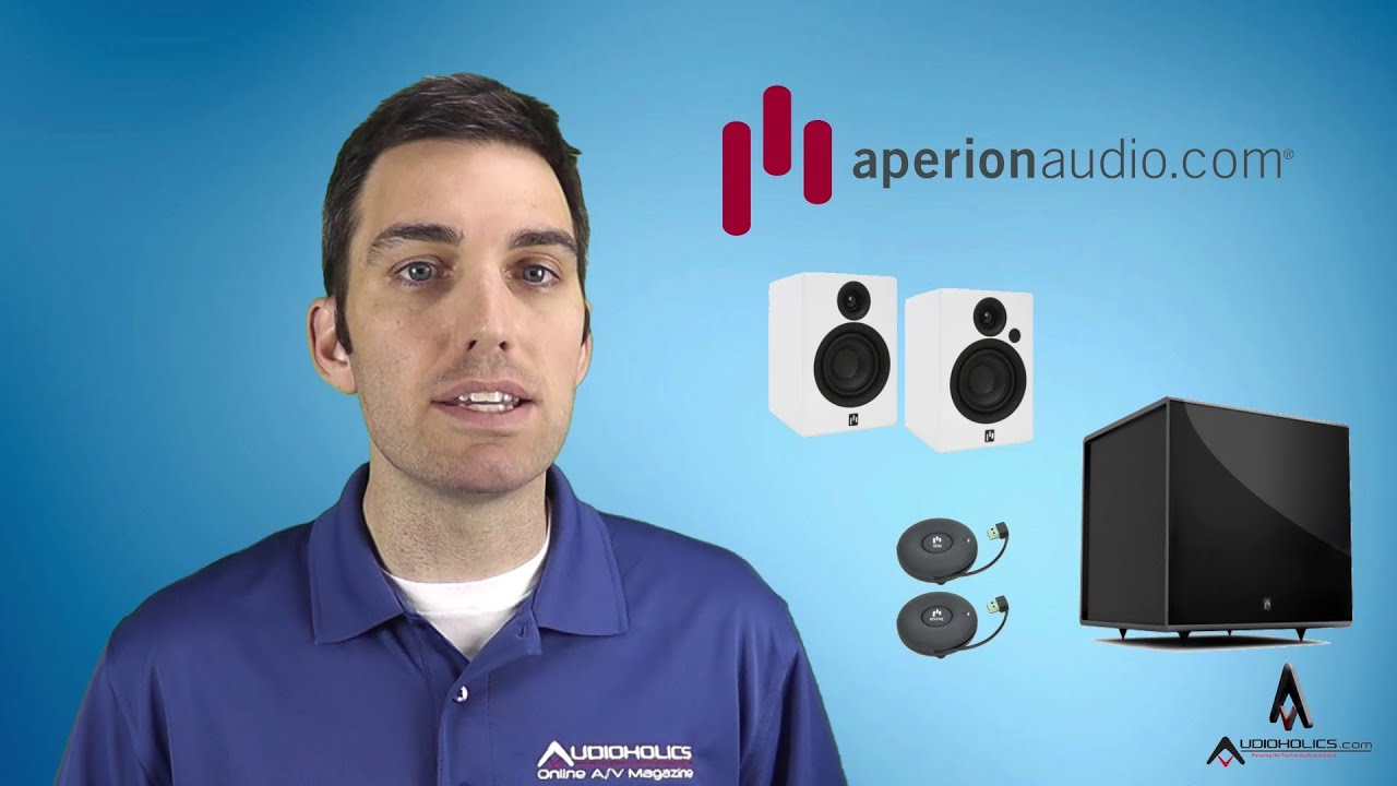 Aperion Allaire Bluetooth Speaker / Bravus II 8D Powered Wireless Subwoofer  Review