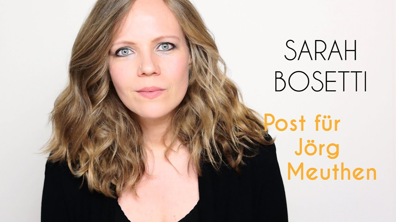 Sarah Bosetti   Meinungsfreiheit - YouTube