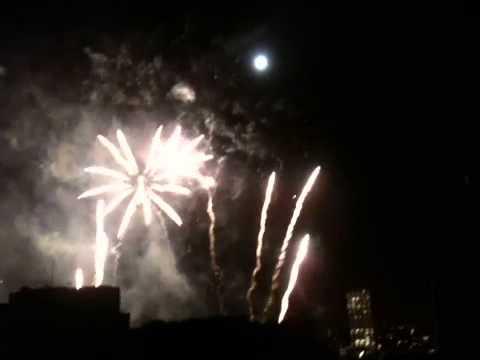 River Thames festival fireworks 11.09.11