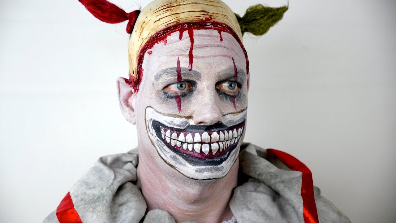 American Horror Story Makeup Tutorial - Twisty The Clown