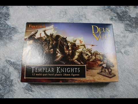 Unboxing Templar Knights Fireforge games
