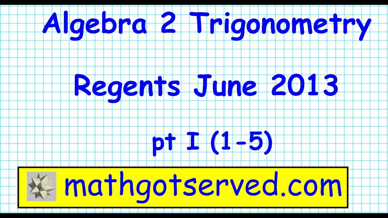 Integrated Algebra Regents June 2013 Answers In 2001 Buick Century Fuse Diagram 1980 Chevy Truck Ignition Wiring