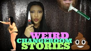 STORYTIME: I HAD TO CUT CLOTHES OFF OF A WOMAN! (CHANGE ROOM STORIES!)