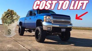 the cost to lift a silverado