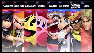 Super Smash Bros Ultimate Amiibo Fights Request #1116 Team Battle at Skyloft