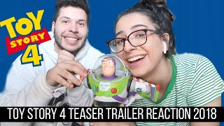 Toy story 4 Teaser Trailer reaction!!!