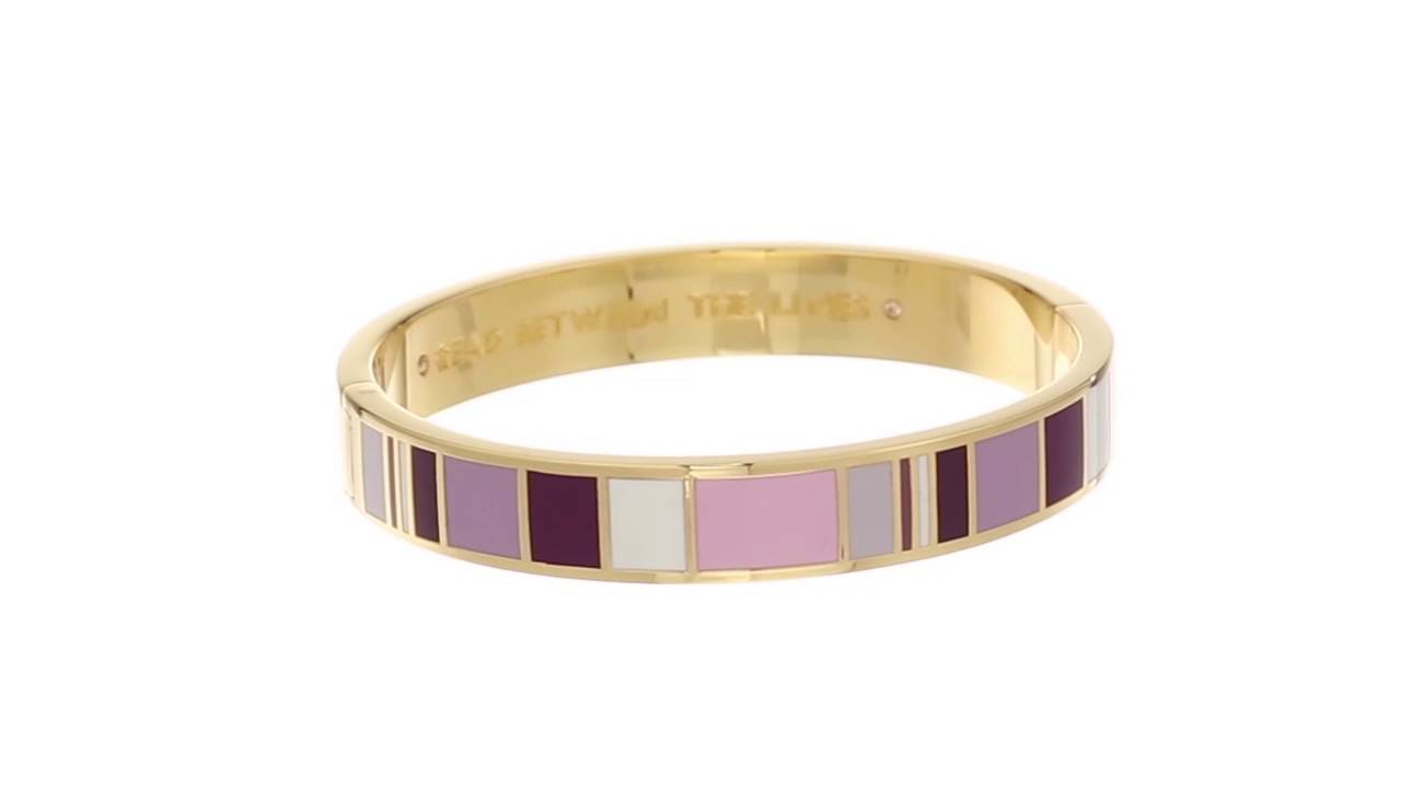 Reading Between Lines In New Yorkers >> Kate Spade New York Idiom Bangles Read Between The Lines Bracelet