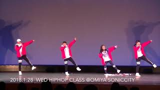 Download 2018.1.28  wed hiphop CLASS @OMIYA SONICCITY MP3 song and Music Video