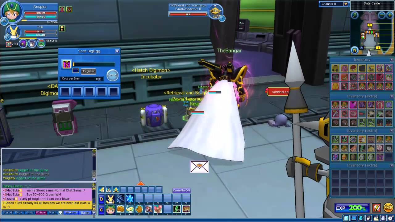 Scanning 3 easter gift boxes digimon masters online youtube scanning 3 easter gift boxes digimon masters online negle Images