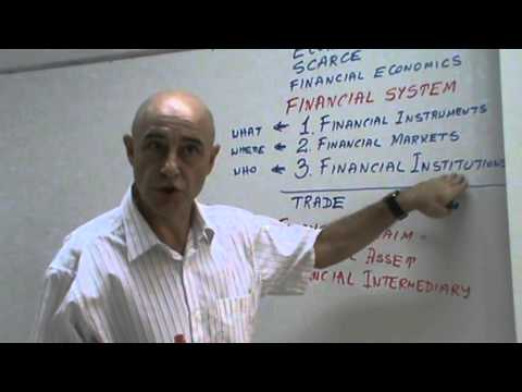Financial Markets and Institutions - Lecture 01