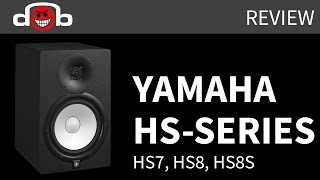 Yamaha HS8, HS7 and HS8S Review