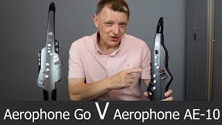 A first look at the Roland Aerophone GO AE-05 and how it compares to the AE-10