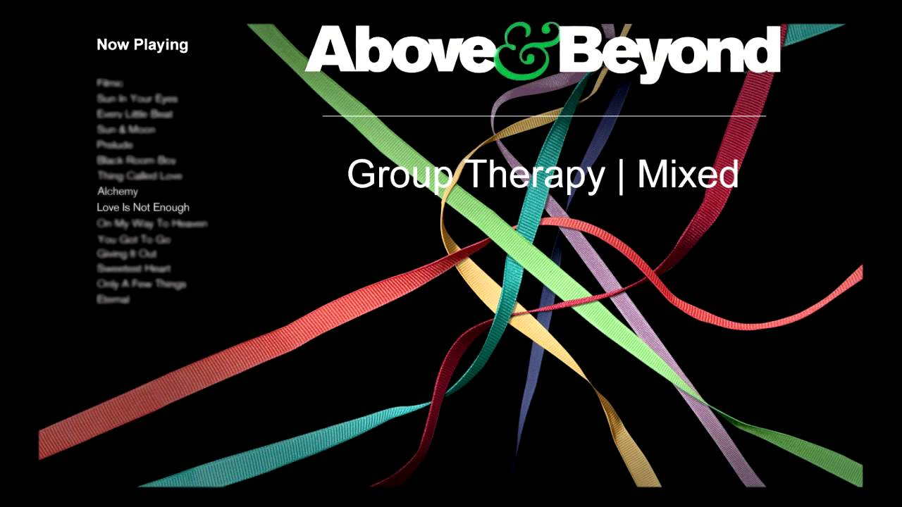 Above and beyond group therapy album cover for Above and beyond