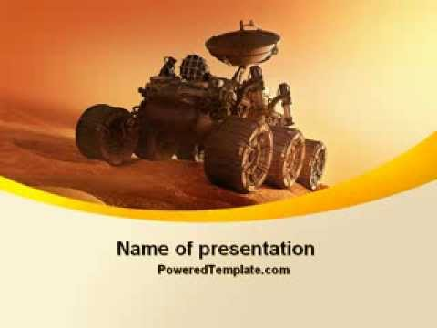 Mars rover powerpoint template by poweredtemplatecom youtube for Poweredtemplate