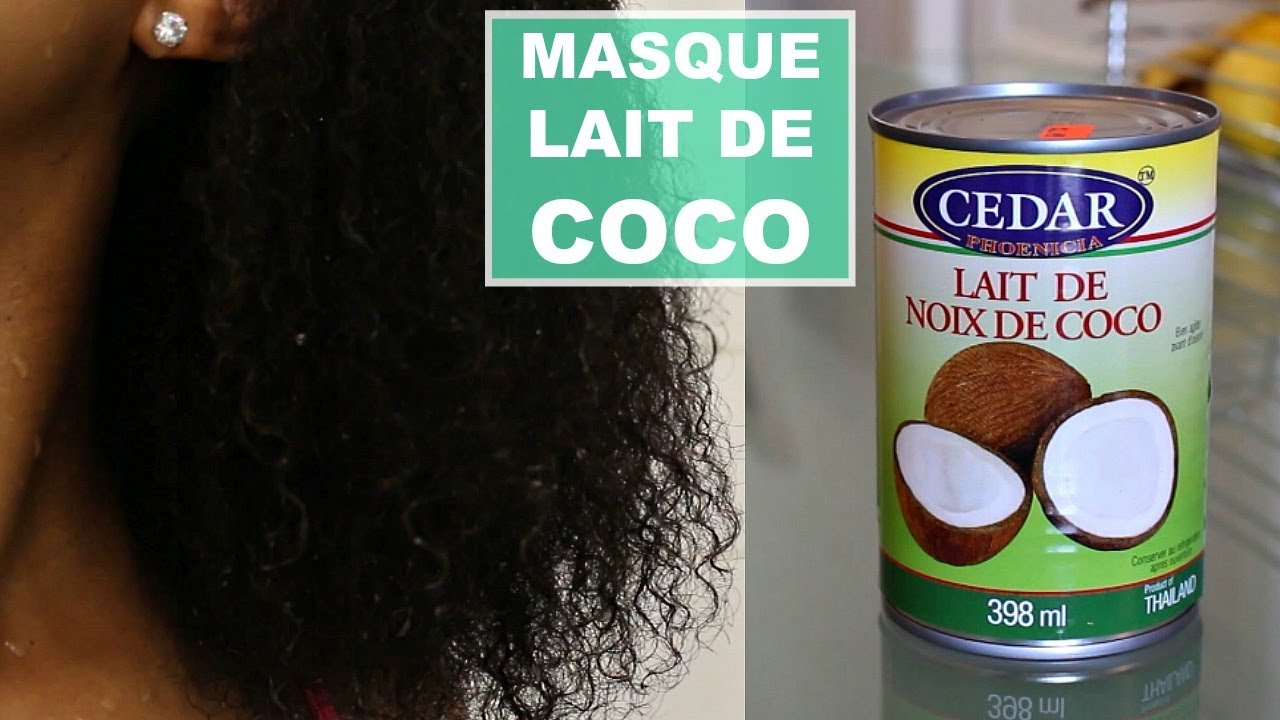 masque au lait de coco pour cheveux forts et moins cassants youtube. Black Bedroom Furniture Sets. Home Design Ideas