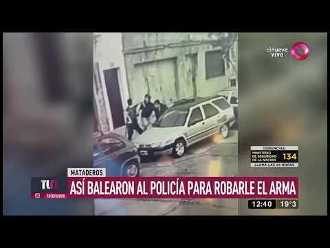 mataderos:-lo-balearon-en-la-cabeza-para-robarle-el-arma
