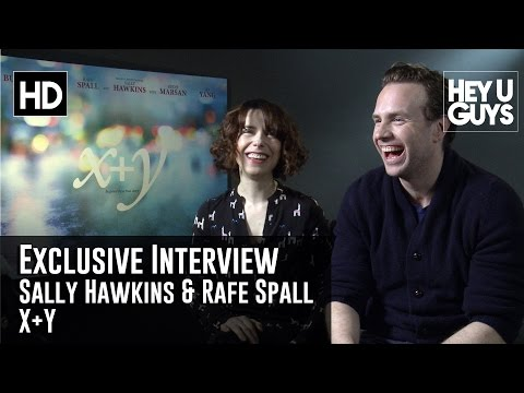 Sally Hawkins & Rafe Spall Exclusive Interview - X+Y (Sexy Maths!)