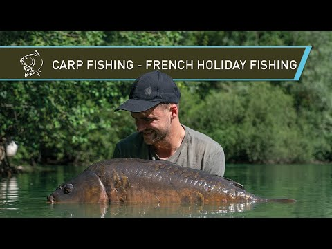 Carp Fishing - FRENCH Fishing Holiday