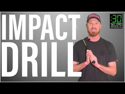 Golf Swing Drills at Home: Wrist Position at Impact