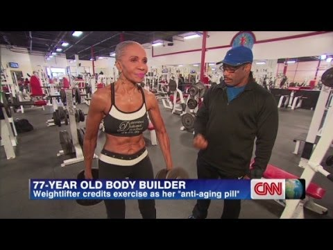 Fit 70 year old woman
