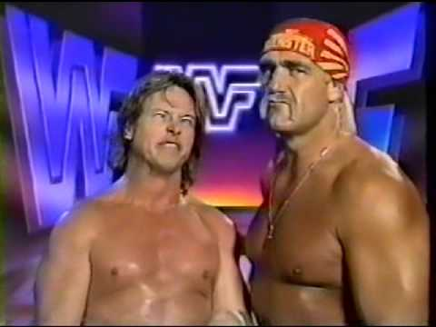Roddy Piper and Hulk Hogan Promo on Flair and Sid (02-29-1992) [Boston]