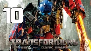Transformers Rise of the Dark Spark Walkthrough Parte 10 Capitulo 10 Gameplay Español PC/PS4/XboxOne