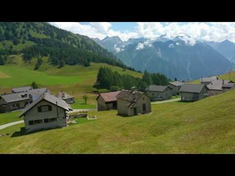 Амвеода, Дётра, домик фермера в горах, Швейцария