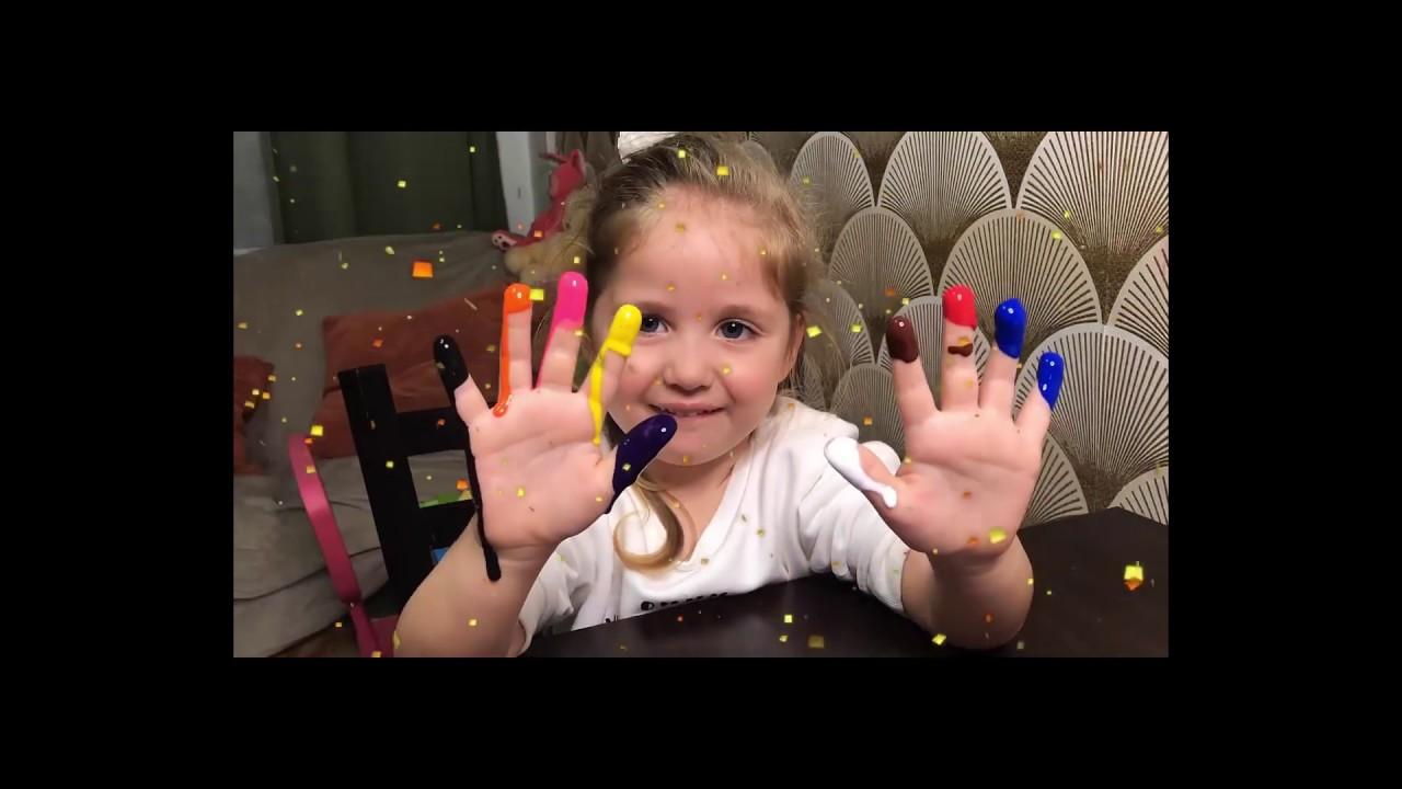 Учим цвета и цифры на английском языке! - YouTube