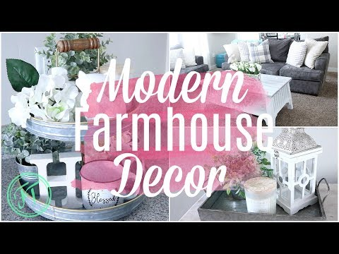 MODERN FARMHOUSE HOME DECOR HAUL| HOME GOODS & HOBBY LOBBY