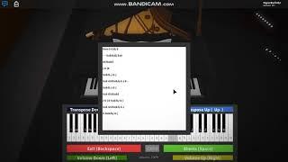 Roblox XXXTentacion - Jocelyn flores Short piano notes.
